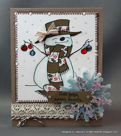 JessFick Snowman Ornaments