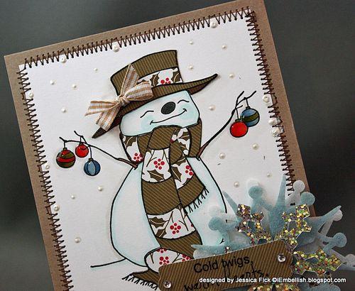 JessFick Snowman Ornaments (2)