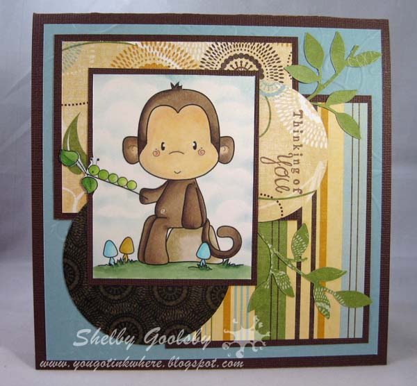 Caterpillar Monkey- Shelby