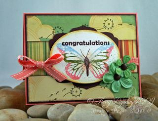 AmyR Stamps Congrats Sentiments Sample 1 by AmyR