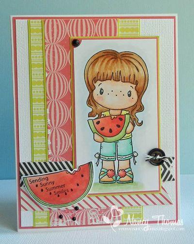 Nancy Thomas CCD Watermelon Abigail 7-1-2013