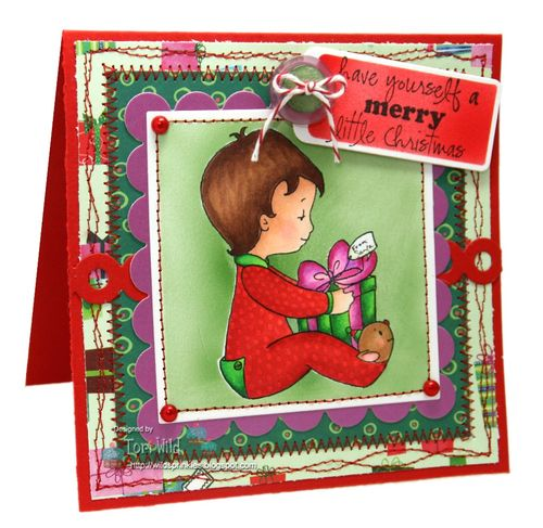 Amy R Merry & Bright Christmas BabiesTori Wild