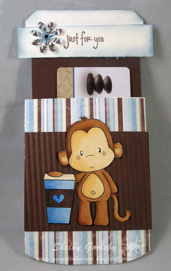 Latte Monket Card Holder