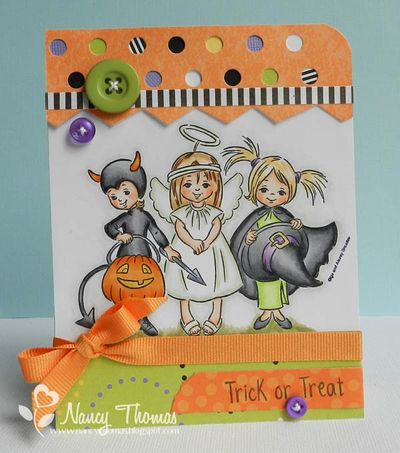 Nancy Thomas Drozy Trick or Treaters 8-20-2013