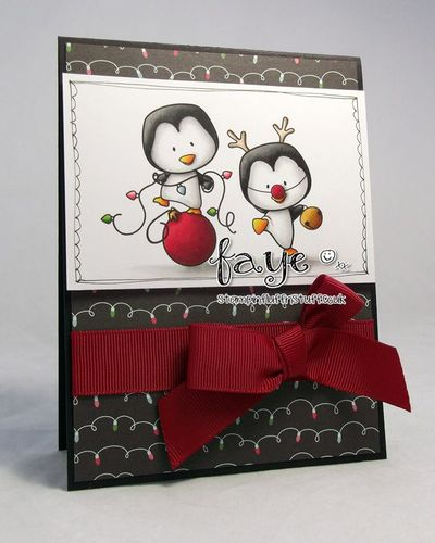 Holidaypenguinscardfa