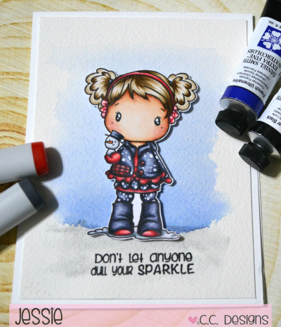 CC Designs - Little Snowman - Jessie Banks