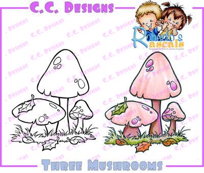 Threemushrooms