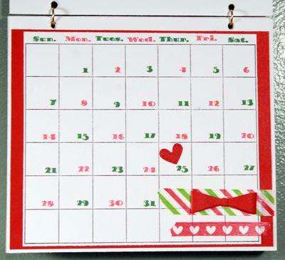 Calendarpage