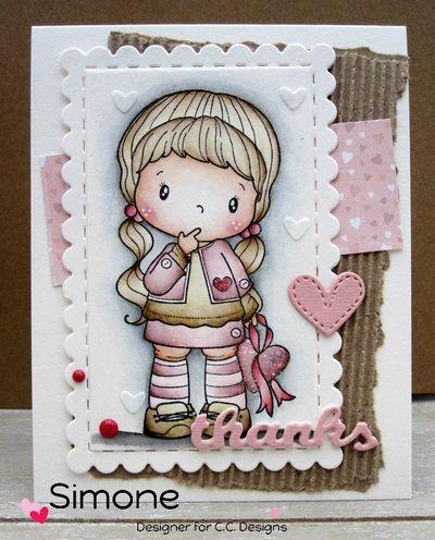 Birgitta with heart