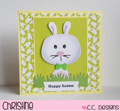 CC Designs Bunny Accessories Die