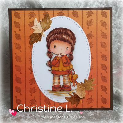 CC Designs Birgitta with Heart