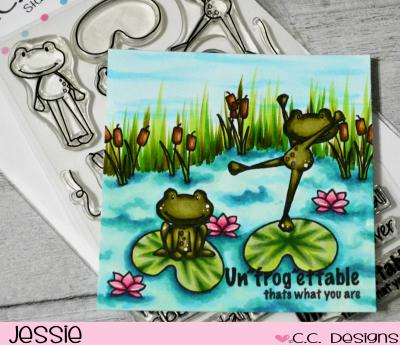 CC Designs - Friggies - Jessie Banks
